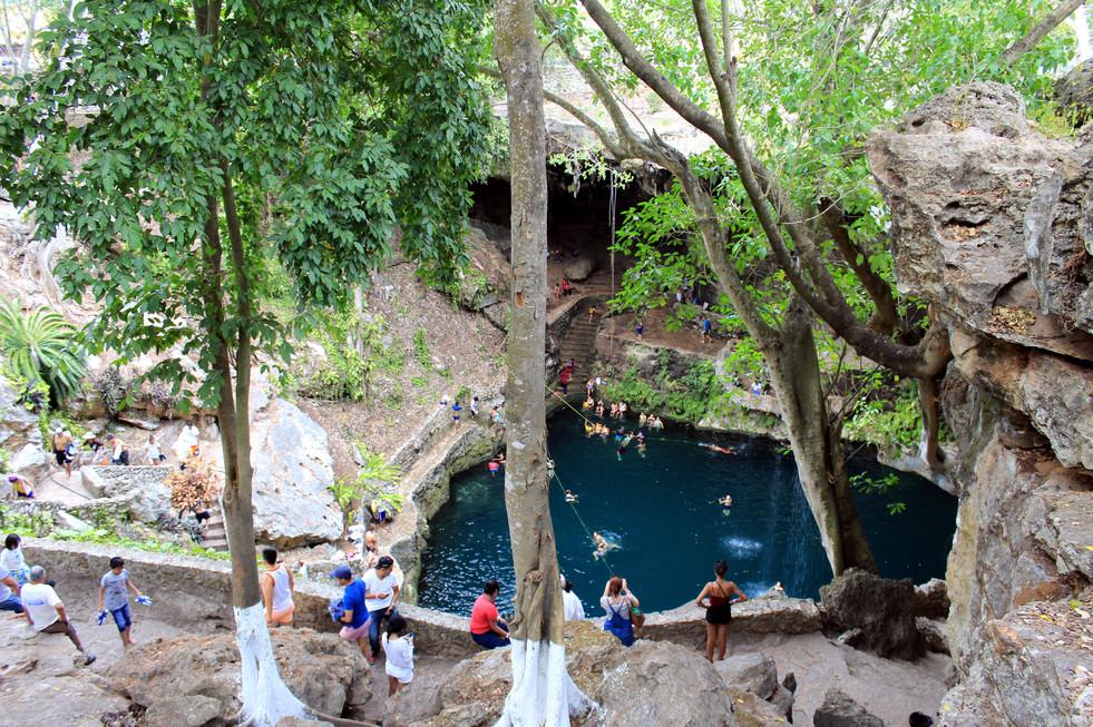 31 - Cenote Zaci - Valladolid