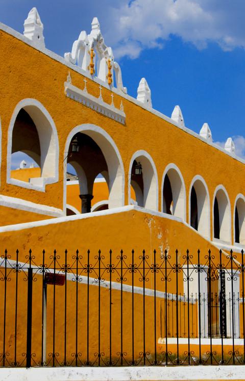 03 - Izamal, Ciudad Amarilla - Couvent San Antonio de Padua