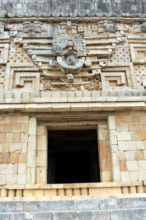 20 - Uxmal - Palais du Gouverneur - Architecture Puuc