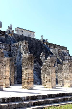 31 - Chichén Itzá - Temple aux milles colonnes