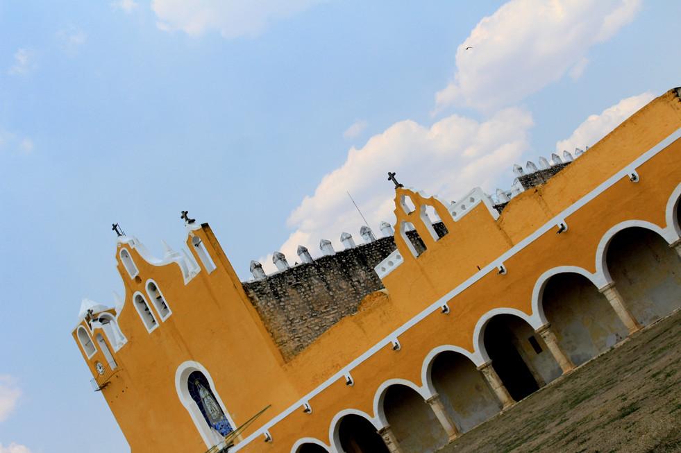 11 - Izamal, Ciudad Amarilla - Couvent San Antonio de Padua