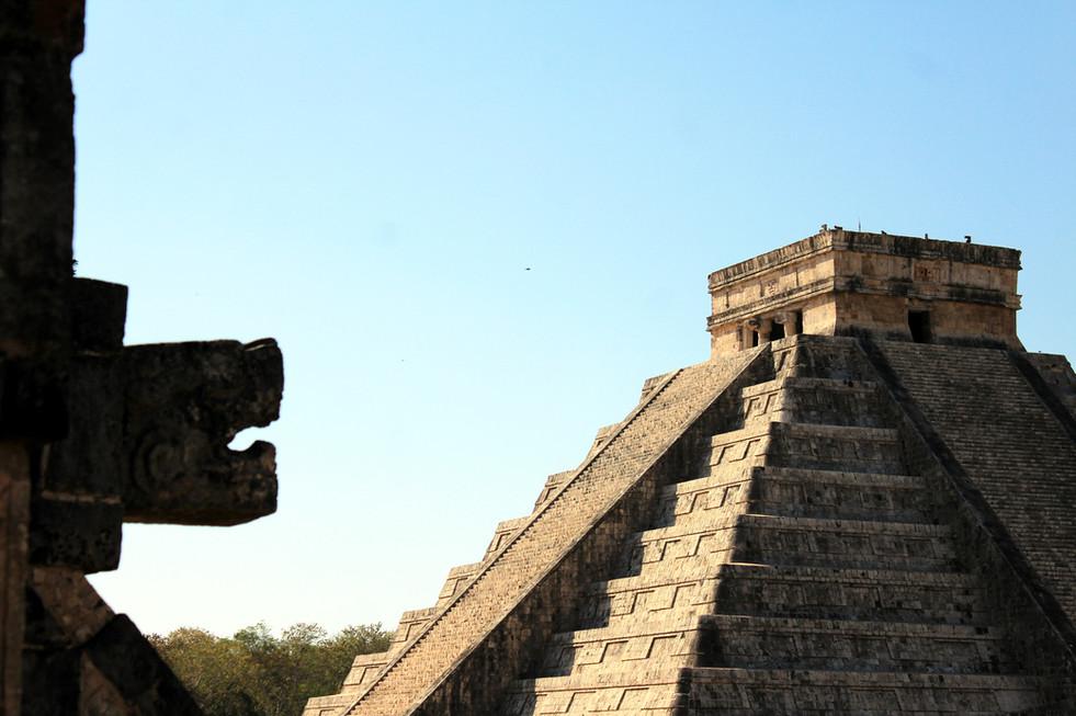 22 - Chichén Itzá - El Castillo - Kukulkán