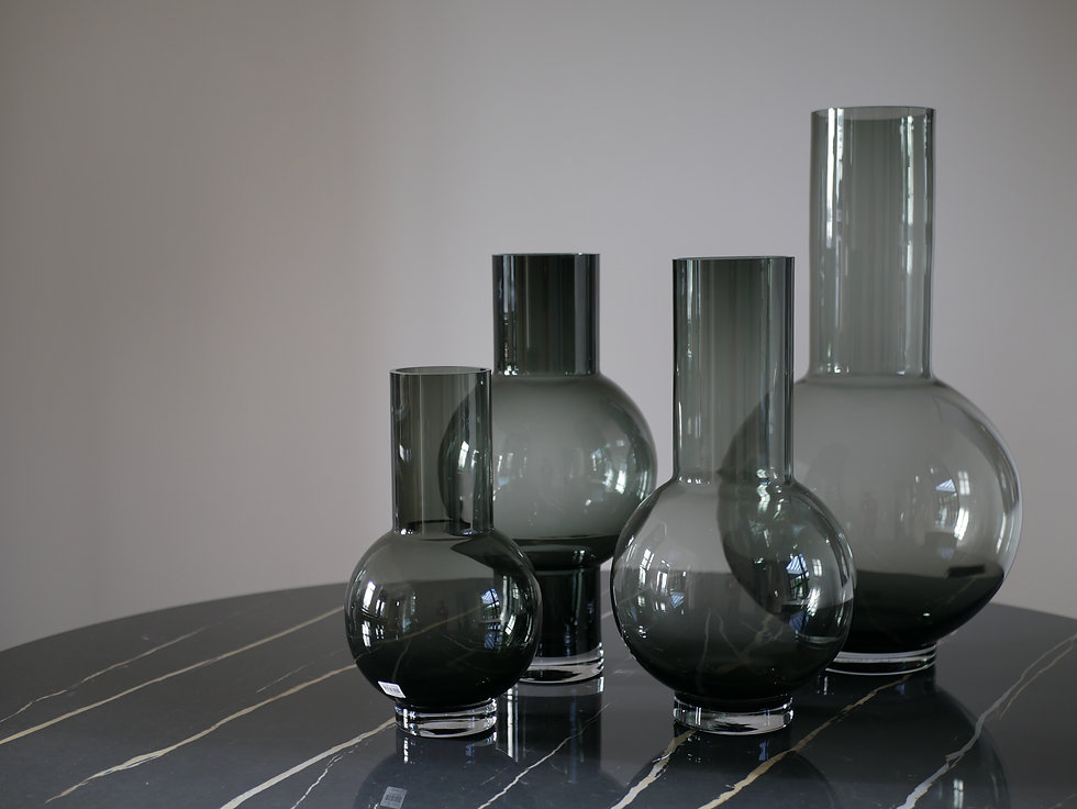 Vase verre lifestyle home collection