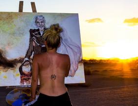 Artist in the Desert 1 2015