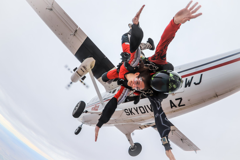 Tandem Image @Skydive Arizona