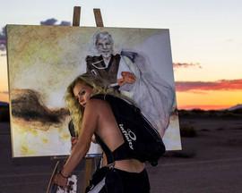 Artist in the Desert 2