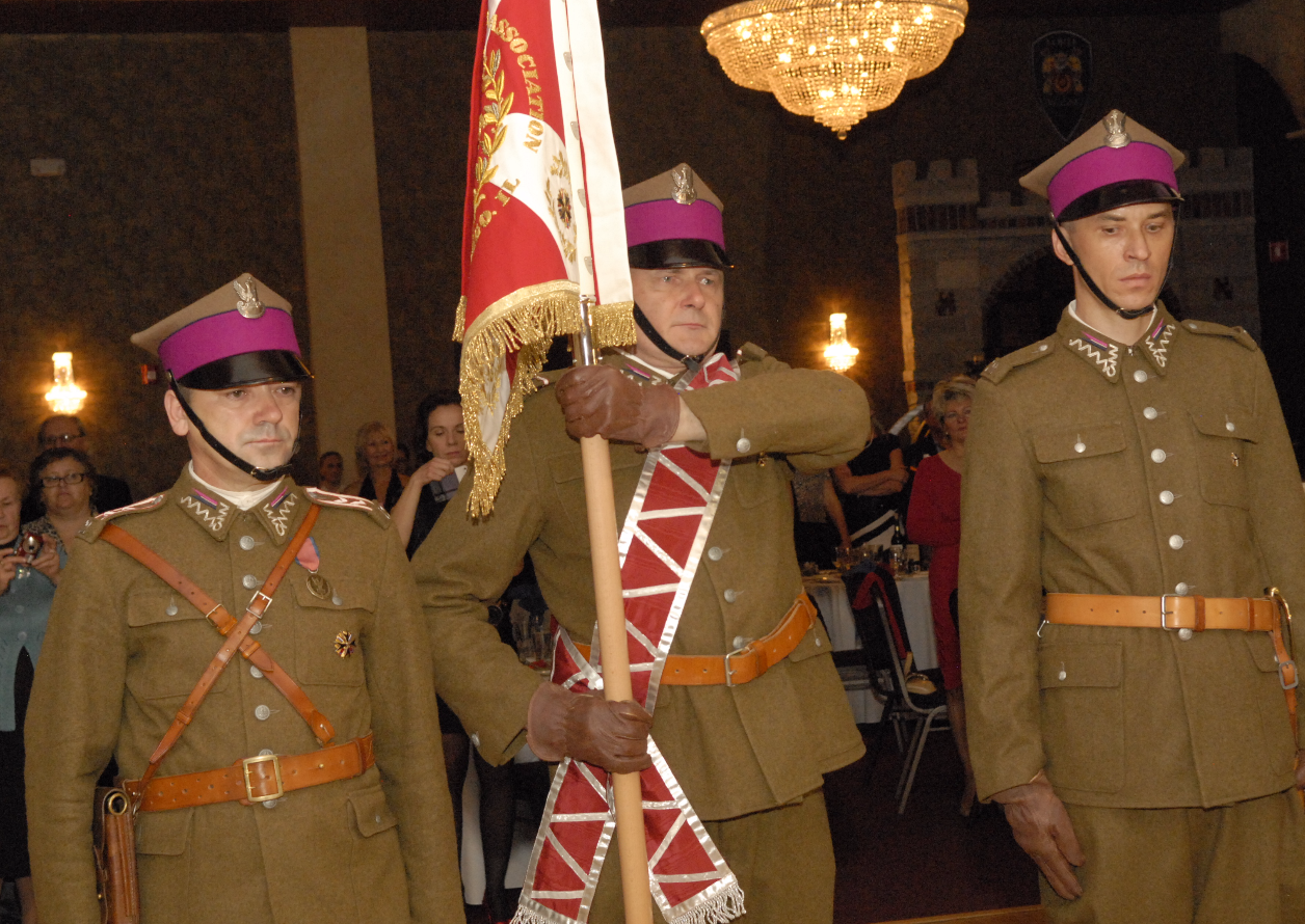 PAHA Banner Color Guard
