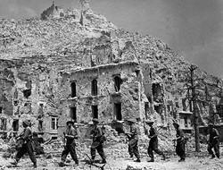 Ruins of Monte-Cassino