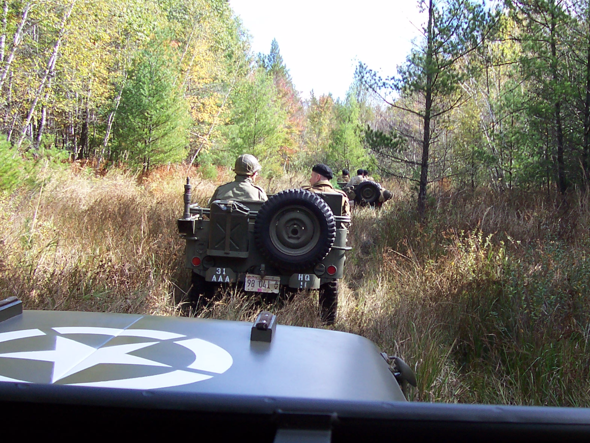 on favorite patrol..