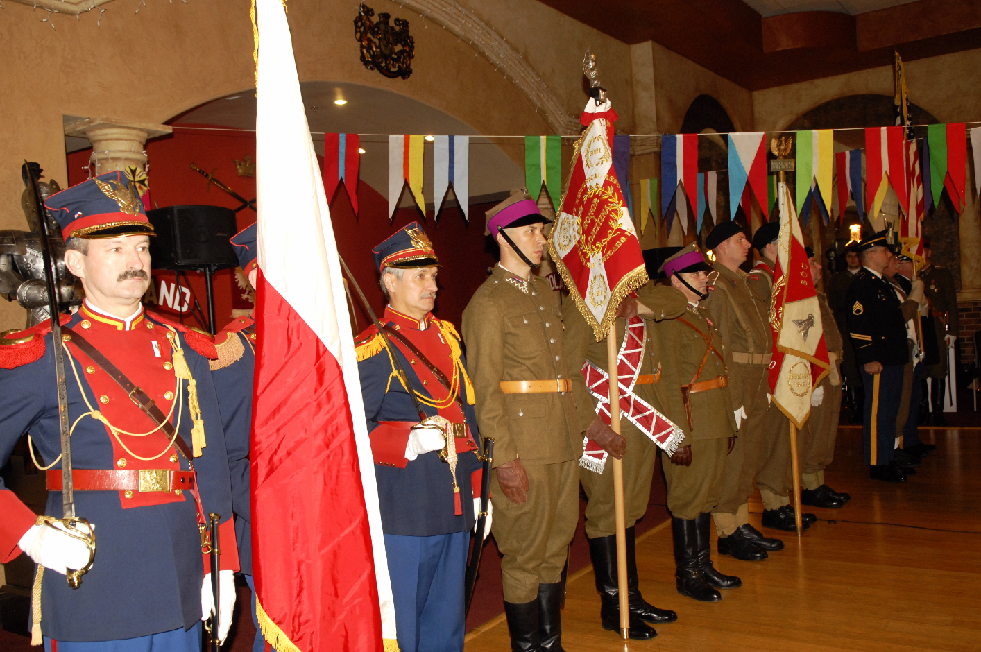 National and Veterans Color Guards