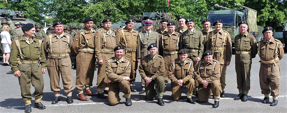 May 25th 2018. Our group is joining Regiment Day in 12 Reconnaissance Battalion Szczecin, Poland