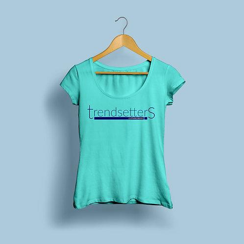 Trendsetters Logo Tee - Teal