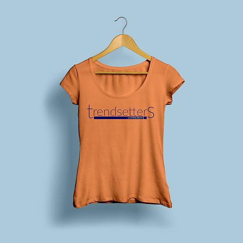 Trendsetters Logo Tee -Orange