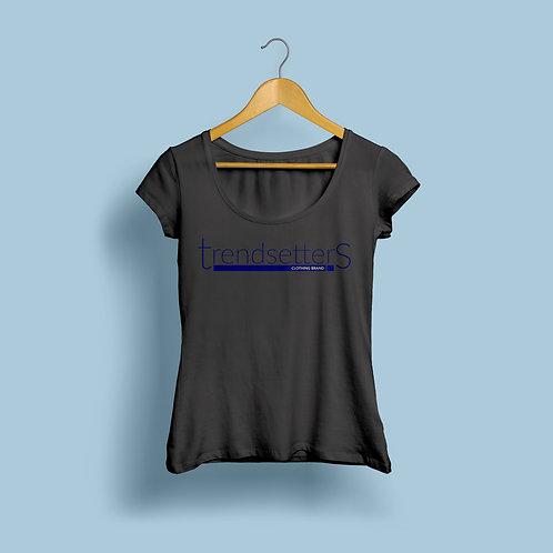 Trendsetters Logo Tee -Black