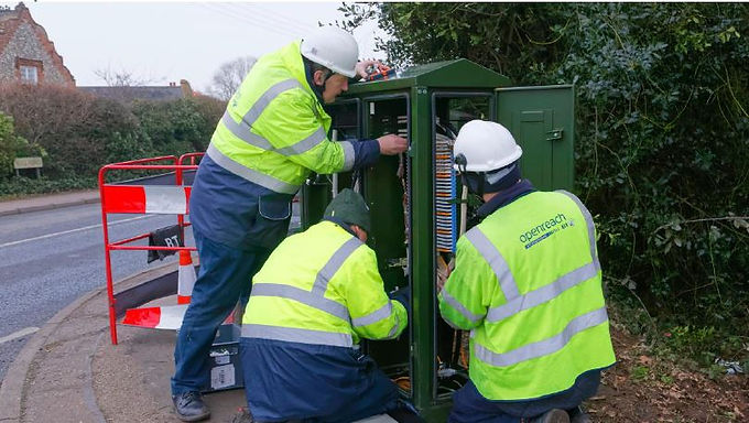 Faster Broadband comes to the parish