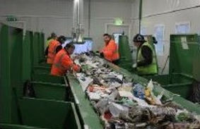 Sorting at the Recycle plant