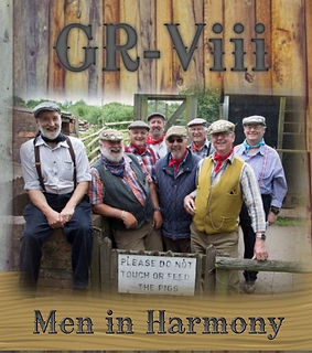 Poster for the Men in Harmony
