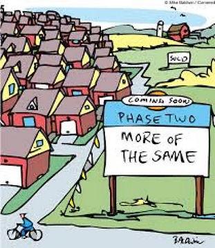 Cartoon of Planning the future