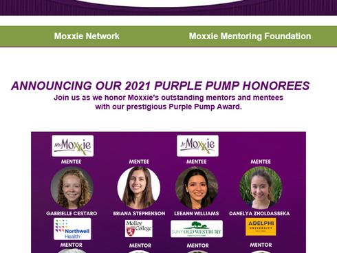 PMP's Barbara DeMatteo Shines as a 2021 Purple Pump Honoree