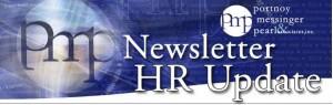 HR Update Newsletter Heading
