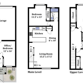 Basic Townhouse Floor Plan