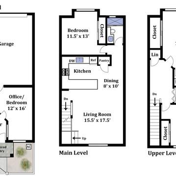 Basic Townhouse Floor Plan
