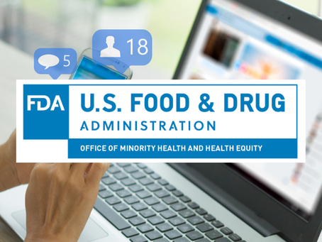 Social Media Launch for the FDA Office of Minority Health