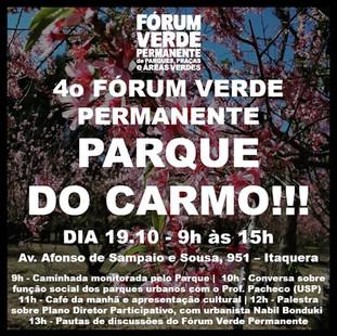 4o Fórum Verde Permanente