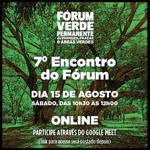 7o Fórum Verde Permanente
