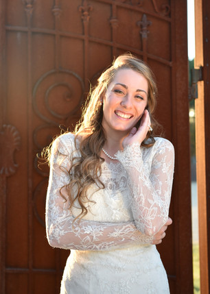 Having Fun Doing Bridal Photos