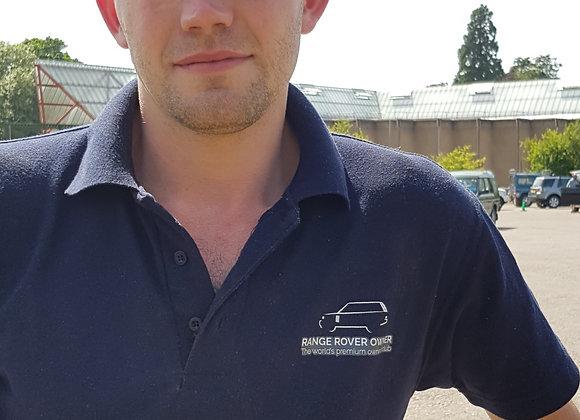 Range Rover Owner Navy Polo-Shirt