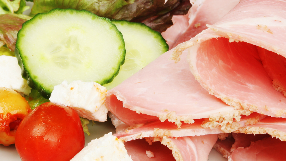 OAP Friday 7th May - Ham House Salad