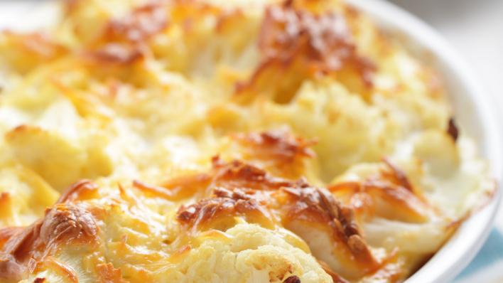 Homemade Cauliflower Cheese