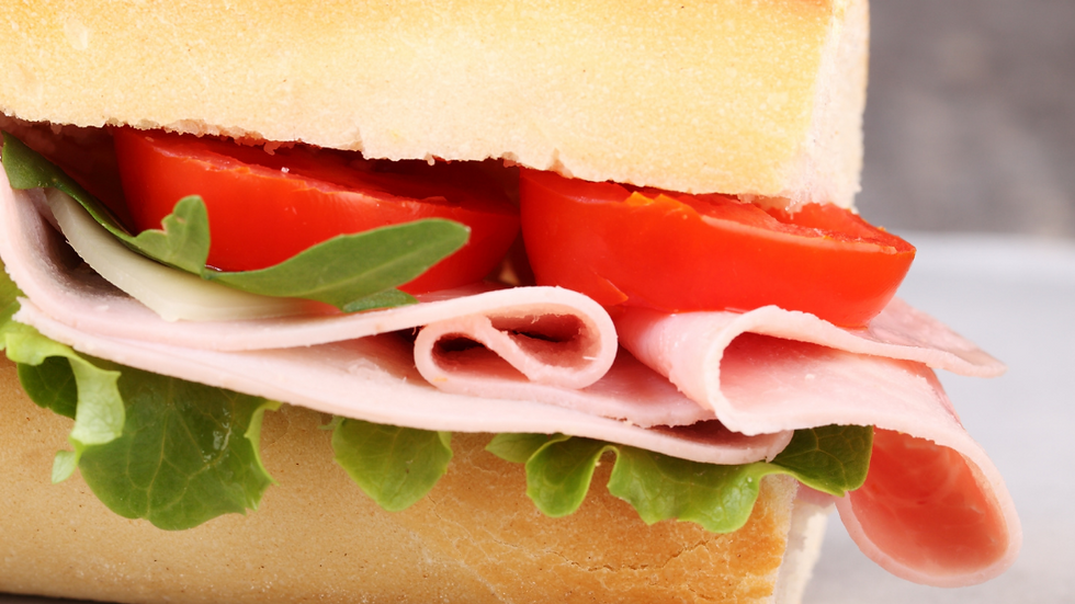 Ham & Tomato Baguette