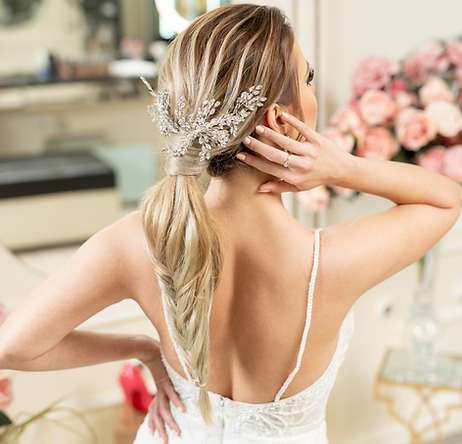 Dm Bridal Accessories Hair Vine Wedding