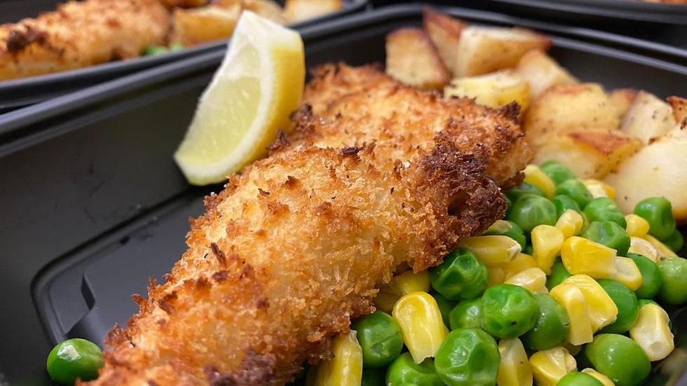 Friday's |  Breaded Haddock