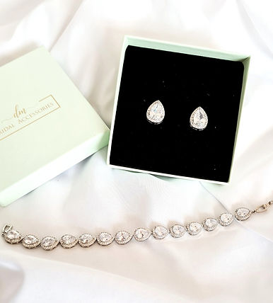 dm bridal accessories wedding bracelet