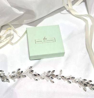 dm bridal accessories wedding hair vines hair combs