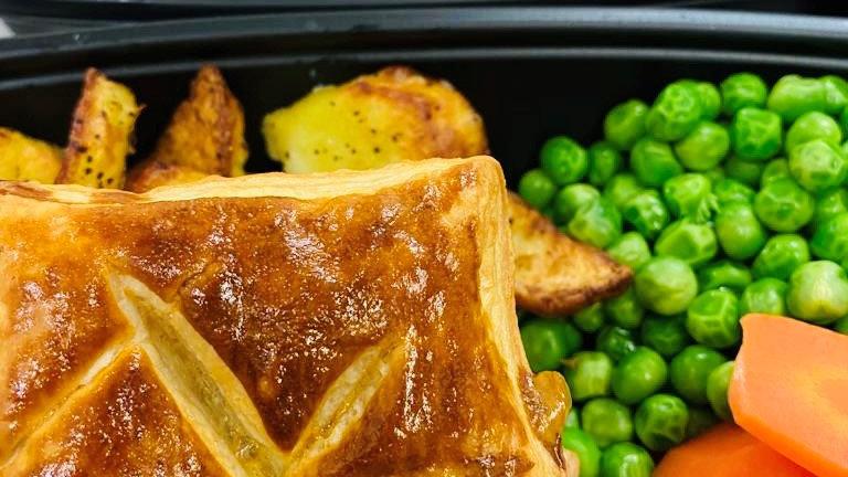 Thursday 17th June - Minted Lamb Pie
