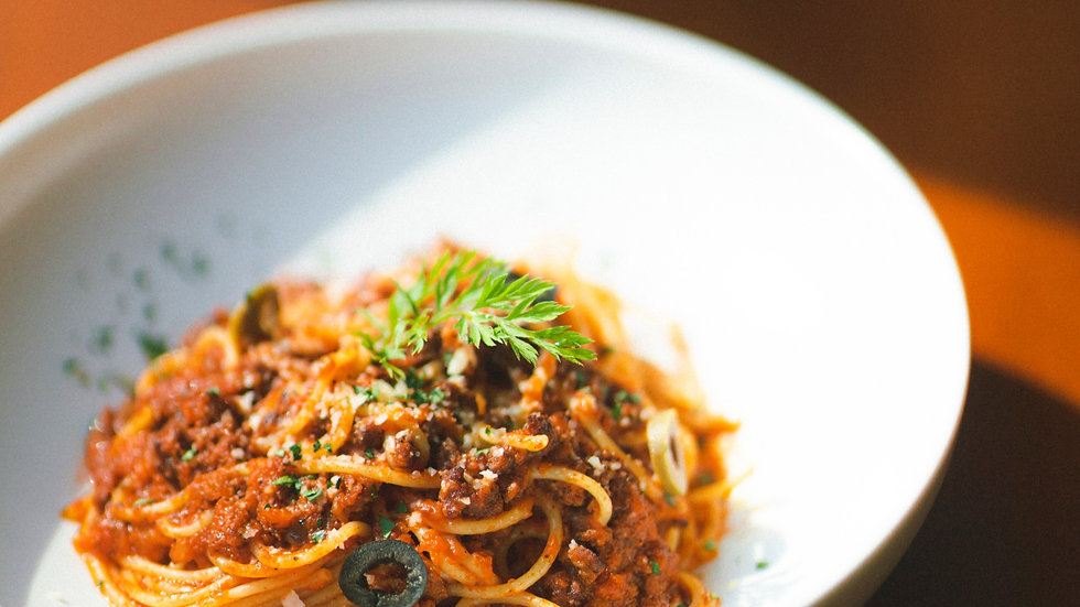 OAP Thursday 17th June - Spaghetti Bolognaise