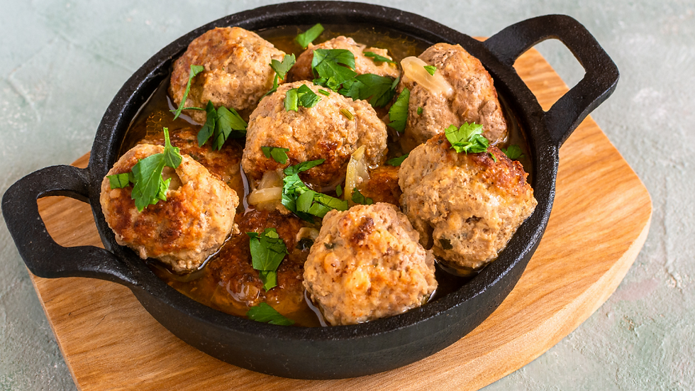 OAP Wednesday 28th July -  Meatballs in a Tomato Sauce