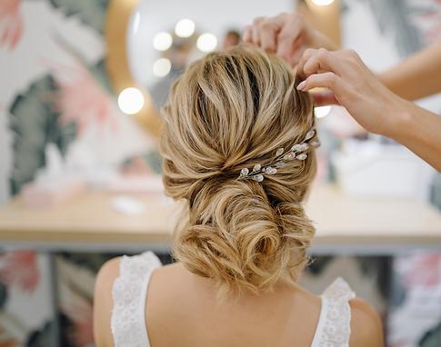 dm bridal accessories wedding hair vine