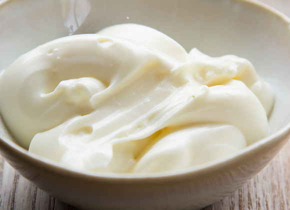 Light Mayonnaise Sauce Pot