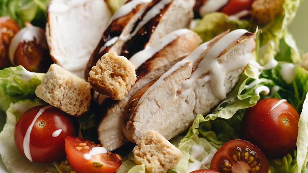 Wednesday 28th July -  Chargrilled Chicken Salad
