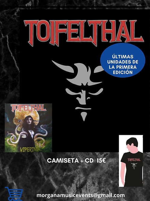 CD+Camiseta Toifelthal