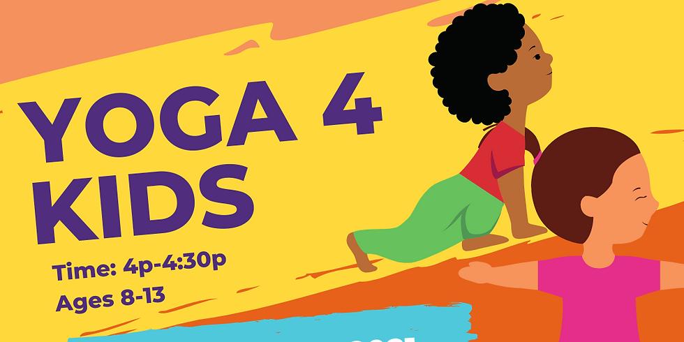 Yoga 4 Kids at FREC-SW