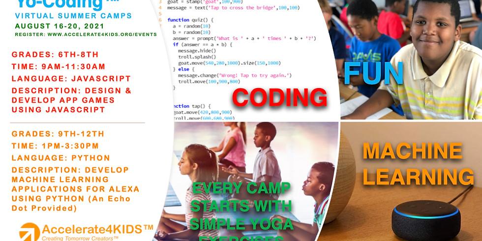 Yo-Coding Virtual Summer Camp (JavaScript)