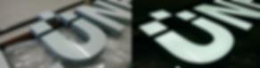 Lichtwerbung Profil 8