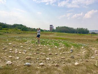 Labyrinth at Meeting Creek