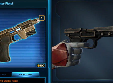 Cartel Market Item Review: GL-13 and Cybernetic Agent Wrist Controller